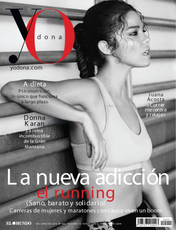 Juana Acosta portada de Yo Dona