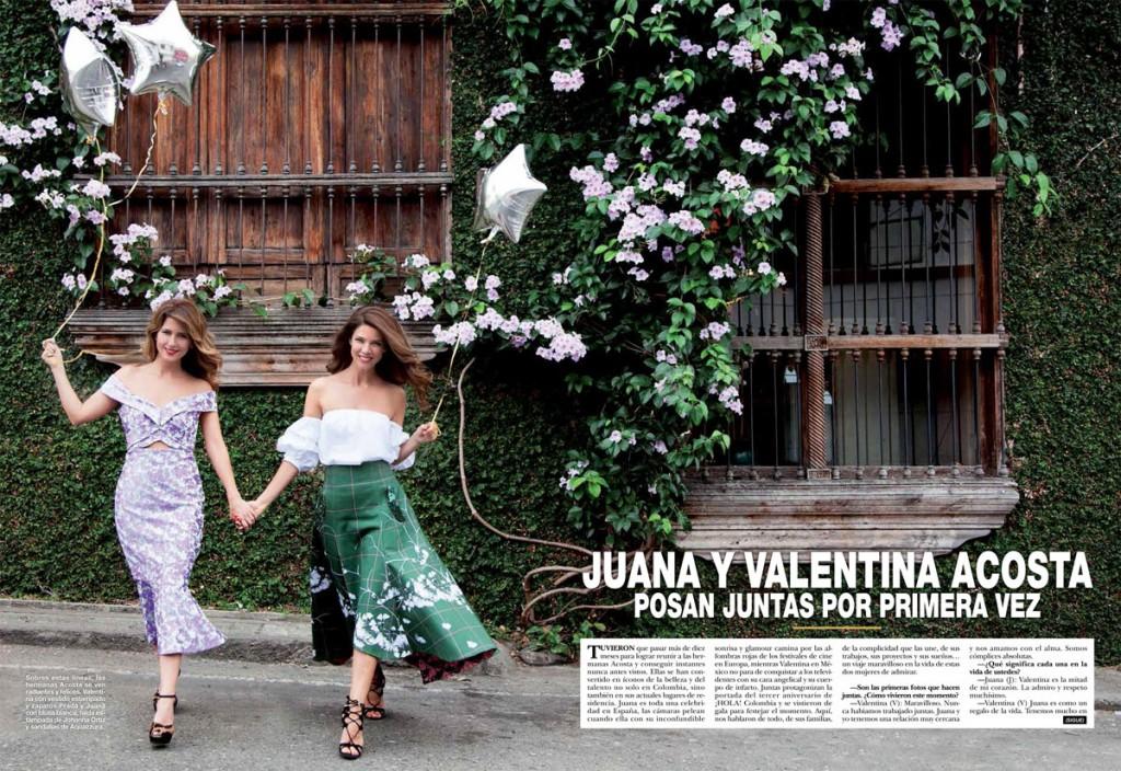 Juana Acosta. Hola Colombia