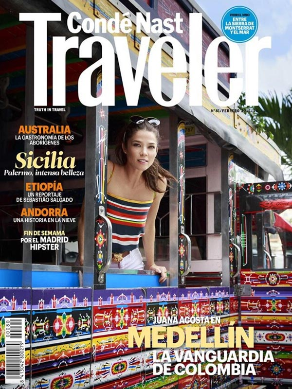 Juana Acosta. Covers. Conde Nast Traveler