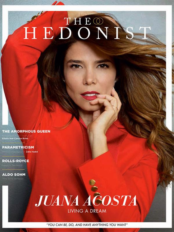 Juana Acosta. Portada The Hedonist