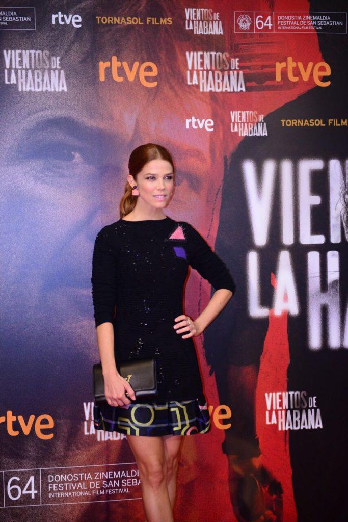 Juana Acosta. Vientos de la Habana en el Festival de San Sebastian
