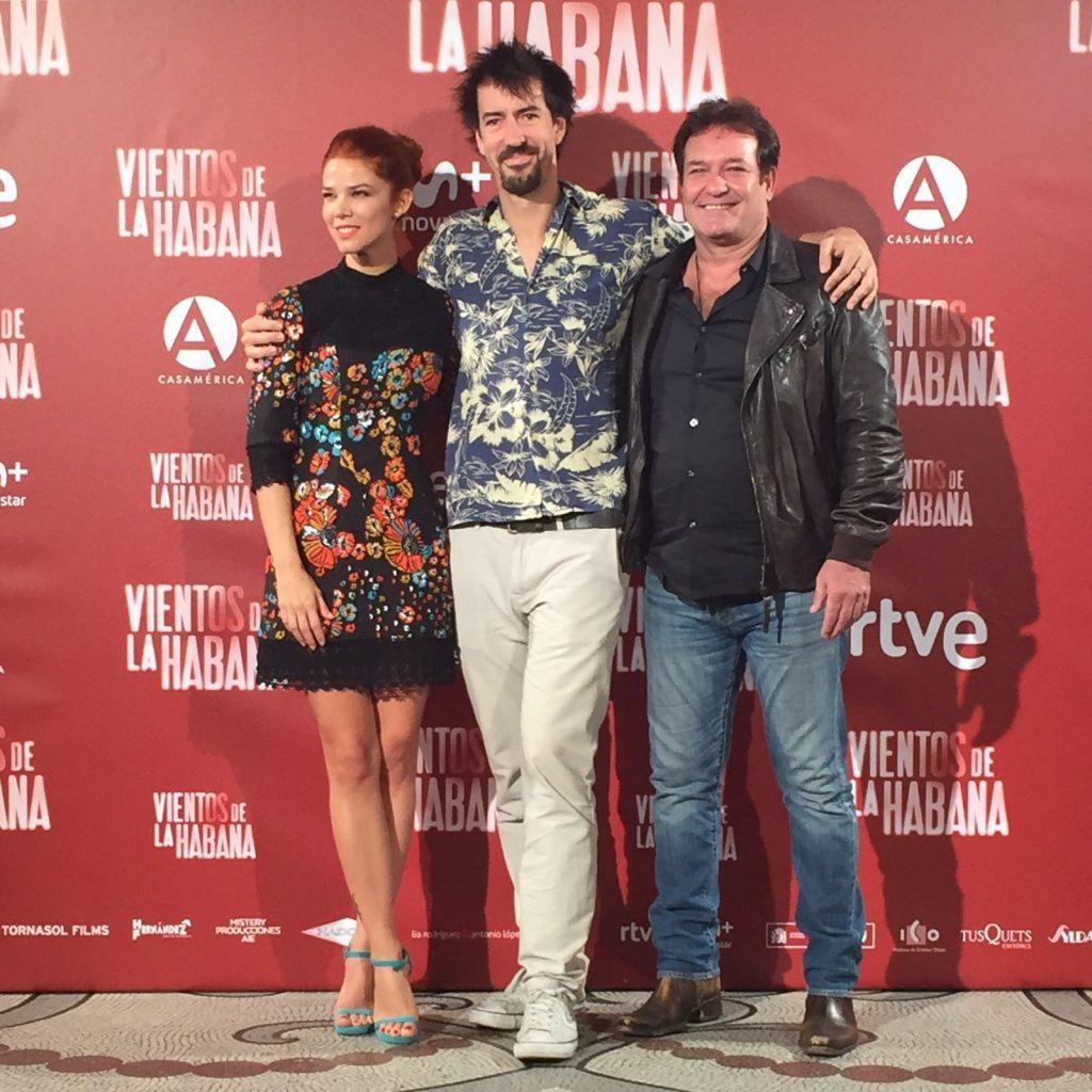 Juana Acosta. Rueda de Prensa Vientos de la Habana