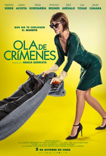 Juana Acosta. Ola de Crímenes