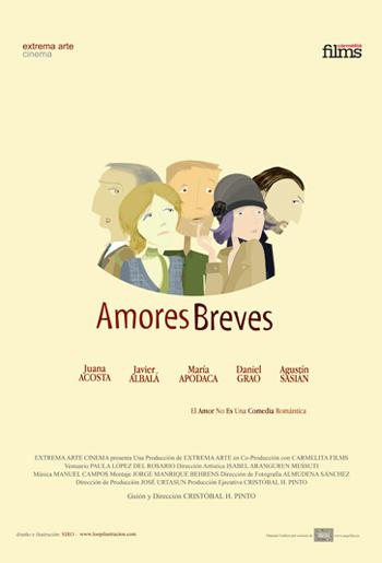 Juana Acosta, Amores Breves  (Cine) 2009