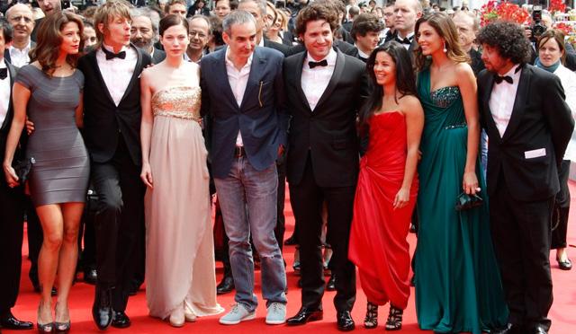 Juana Acosta en la alfombra roja de Cannes