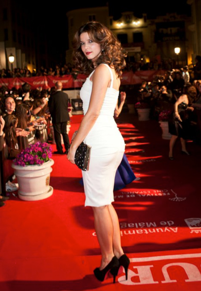 Juana Acosta presenta la ceremonia de clausura del festival de cine de Málaga