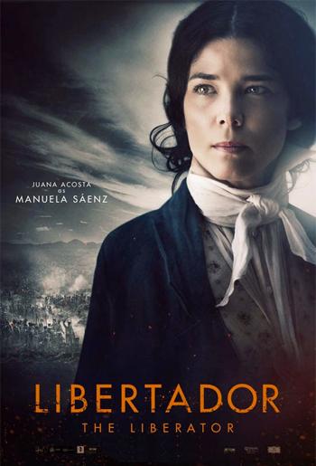 Juana Acosta, Libertador (Cine) 2013