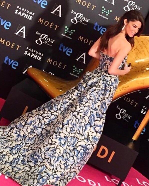 Juana Acosta en los Goya 2015