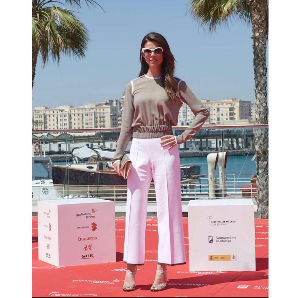 Juana Acosta en el festival de Málaga