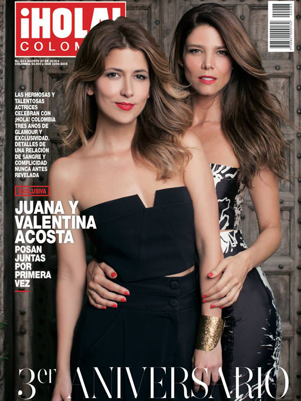 Juana Acosta. Covers. Hola
