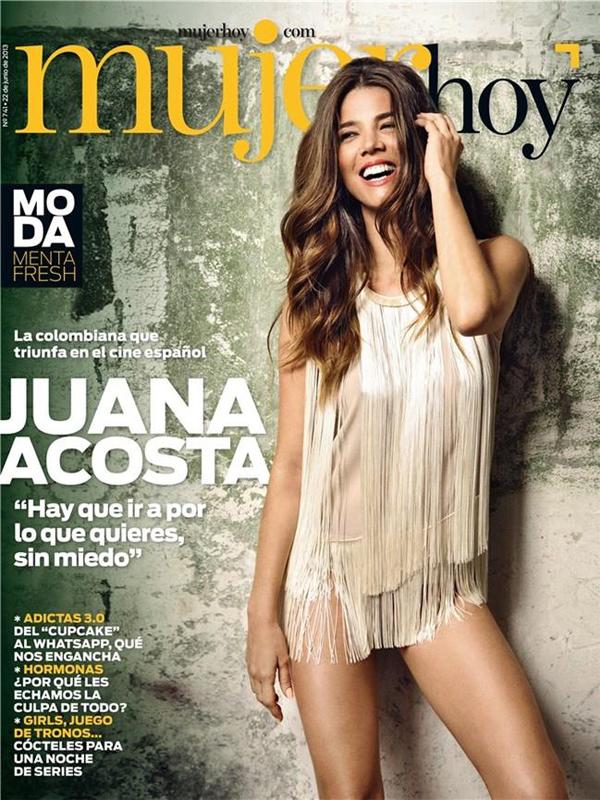 Juana Acosta. Covers