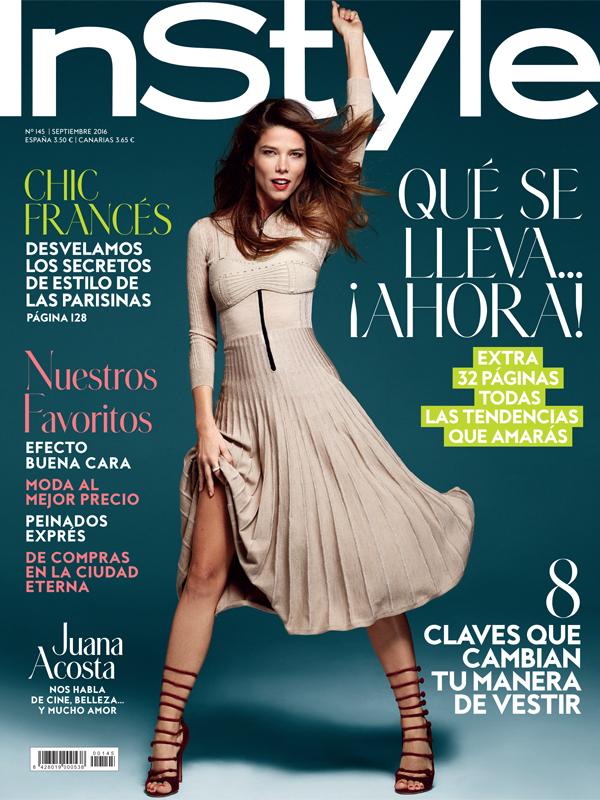 Juana Acosta. Covers. Instyle