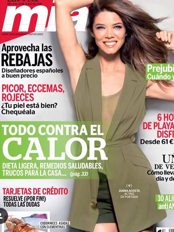 Juana Acosta. Covers. Mia