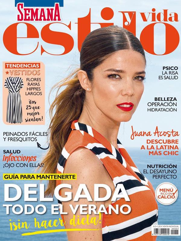 Juana Acosta. Covers. Semana