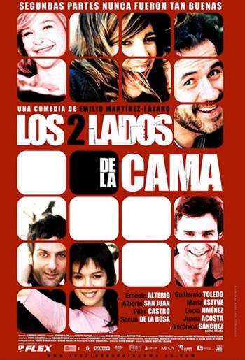 Juana Acosta, Los dos lados de la cama (Cine) 2005