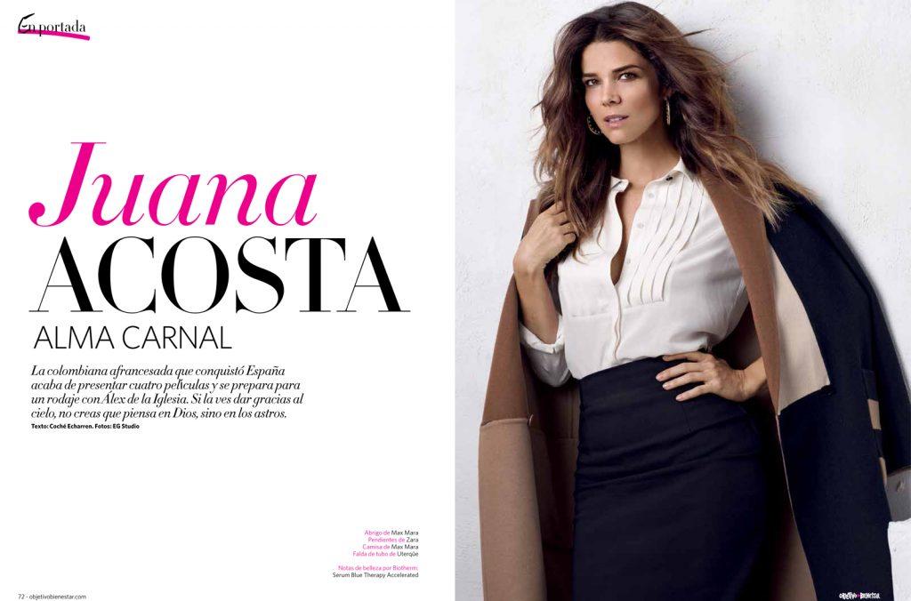 Juana Acosta . Objetivo Bienestar